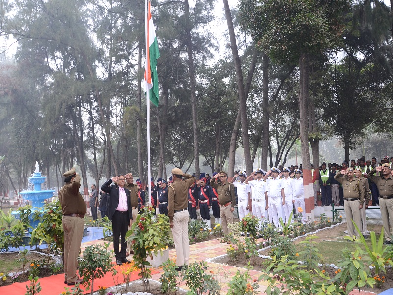 celebration of republic day in nsez noida
