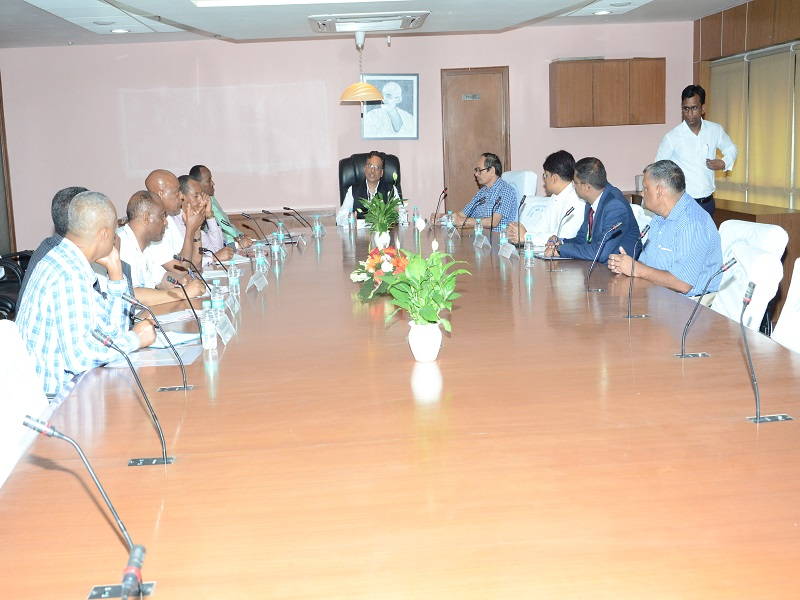 Visit of Ethiopian Delegation
