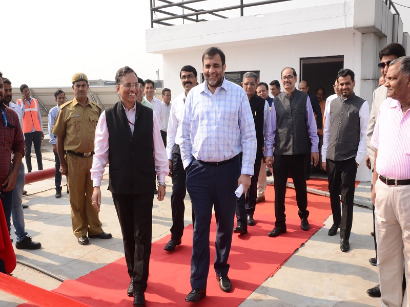 Visit of Commerce Secretary to NSEZ on 05 October 2018