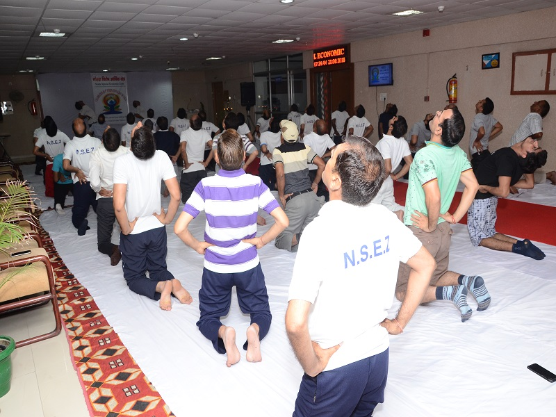 International Yoga Day Celebration NSEZ