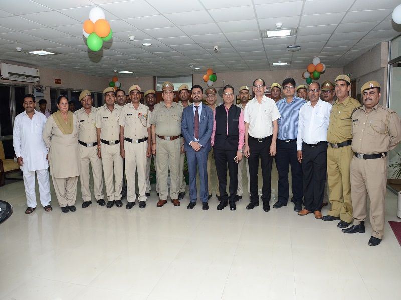 celebration of Indepenence day in nsez noida