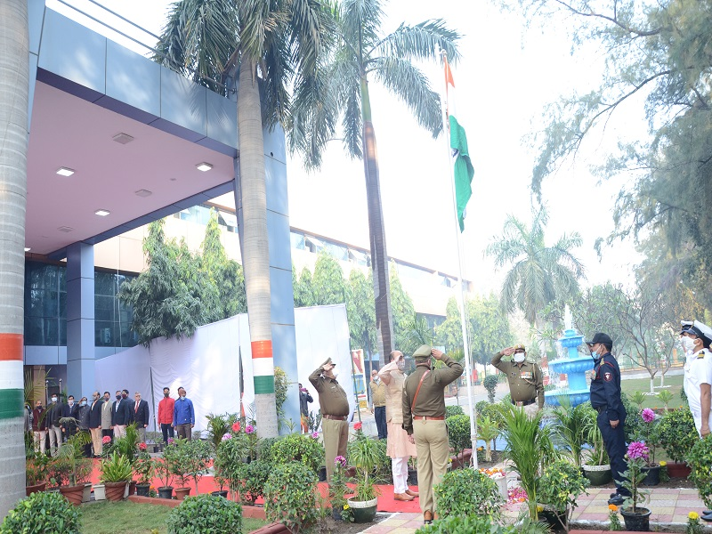 Celebration of Republic Day 2021